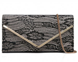 Spitzen-Clutch-Handtasche Evening Bag Shoulder Bag Party