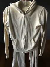 Juicy Couture Yellow Sweat / Jump Suit Hoodie Capri Pant Size M Women Pre-owned