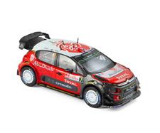 1/43 Norev Citroën C3 WRC N°7 Pologne 2017 A.Mikkelsen / A.Jaeger Neuf En Boite