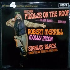 FIDDLER ON THE ROOF SOUNDTRACK VINYL LP AUSTRALIA