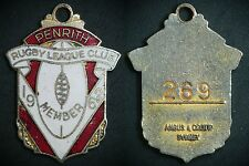 Penrith Panthers Leagues Club Member badge 1962