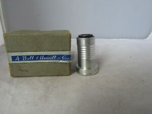 """VINTAGE BELL&HOWELL GAUMONT 1"""" PROJECTION LENS IN ORIGINAL BOX"""