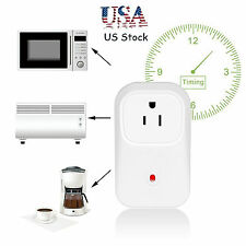 Wifi Smart Plug Power Timer Switch Wireless Remote Plug Socket Electrical Outlet