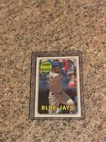 2018 Topps Heritage SSP Lourdes Gurriel High Number RookIe In-Action Card MT/NMT