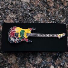 Kirk Hammett Metallica Metal Guitar Pin Badge
