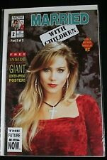 Kelly Bundy Special #2 ~ MARRIED WITH CHILDREN (Now Comics) GIANT POSTER SPREAD!
