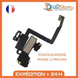 Écouteur interne IPHONE 11 PRO MAX Micro CAPTEUR LUMIÈRE PROXIMITÉ HAUT PARLEUR