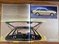 1980 Toyota Corolla Liftback Ad