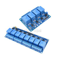 1/2/5/10Pcs 4/8-Channel 5V Optocoupler Relay Module For Arduino PIC AVR DSP ARM