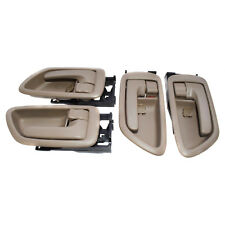 New Inside Door Handles Set Front Rear Left Right For Toyota Sequoia Tundra 4Pcs