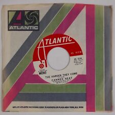 CANNED HEAT: The Harder They Come US Atlantic 45-3236 Promo Blues 45 NM-
