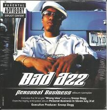 SNOOP DOGG w/ BAD AZZ 2001 Album Sampler PROMO DJ CD SEALED w/ ICE CUBE Ras Kass