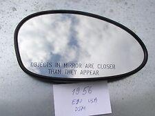 RIGHT OEM ORIGINAL BMW 1/3 E82/E90/E92 Auto DIM HEATED MIRROR GLASS RH USA TYPE