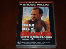 Die Hard With A Vengeance - R4 DVD Bruce Willis