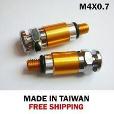 Fork Bleeder Valve KTM SX XC EXC 125/150/200/250/300/350/400/450 -M4x0.7 gold
