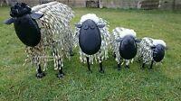 Outdoor Shaun The Sheep Lamb Animal Garden Art Statue Ornament Large Sculpture