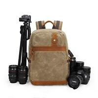 Outdoor Travel Backpack DSLR Camera Case Camera/Lens/Tripod/Laptop Bag