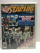 Starlog Magazine #77 (VF/NM) Sam Shepard as Chuck Yeager DOCTOR WHO