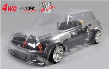 Fg Modellsport 4WD 510 chasis trofeo Carrocería sin Lacar 26 CCM RTR 155180r