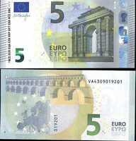 "SPAIN EURO 5 EURO 2013 P NEW DESIGN ""V00315"" UNC"