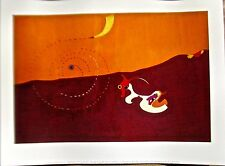 Joan Miro Authentic Poster Print Landscape THE HARE 14x11