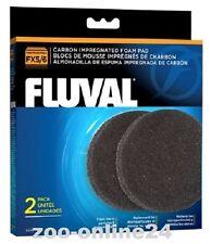 Fluval FX5 - FX6 - Carbon-Foam; Aktiv-Kohle-Filter-Pads, 2er-Pack;  A-249