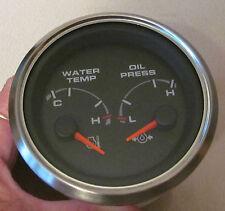946758 BEEDE Dash Dual Water Temp Oil Gauge RV MOTORHOME MONACO NEW OLD GAB-273