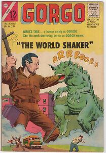 GORGO 19   CHARLTON 1964  MONSTER MOVIE COMIC