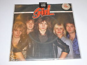 """GIRL - My Number - 1979 UK 1-track 7"""" single pressed on CLEAR VINYL"""