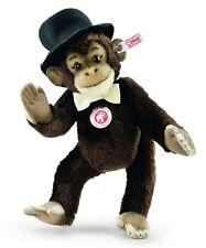 "Steiff ""Frederic The Chimpanzee"" Ean 034398 Brown Mohair Jointed Chimp Lim Ed"