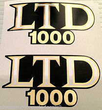 KAWASAKI Z1000 Z1000 LTD KZ1000 z1000k Ltd latéral PANNEAU STICKERS