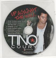 Tino Coury Up Against The Wall Limited Edition 2010 Promo Remixes CD