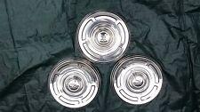 """1960-1967 AMC Rambler 10"""" hubcaps hub caps wheel covers set of 3"""