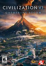 Sid Meier's Civilization 6 (VI) Gathering Storm Région Europe PC Key DLC