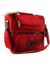 Picnic Time Amazing Spider-Man Pranzo Lunch Tote 6-Piece Set Marvel Comics New