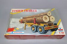 ZF1287 Esci 1/32 maquette camion remorque S-0307 Timber Trailer Transport Twin
