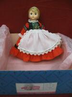 Vintage Madame Alexander Doll Germany with Original Box & Tag #24