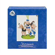 NEW! Disney Store The Three Little Pigs Limited Release 1100 Sketchbook Ornament