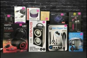 Wholesale Lot  Box - 10 Items - Amazon MSRP $300 VALUE Electronics, Accessories