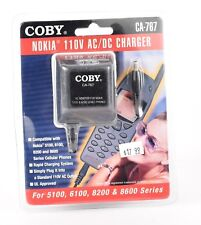Coby CA-767 for Nokia 5100 6100 8200 8600 Phone 110V AC/DC Charger C9
