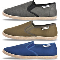 Lambretta Mens Kyak Espadrille Summer Holiday Plimsols From Only £9.99 Free P&P
