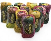 10 x 50g Multicoloured  Noro Kureyon Wool - sh 352