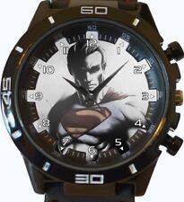 Superman Comic Style New Trendy Sports Series Unisex Gift Wrist Watch