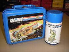 "1988 Vintage Retro G.I. Joe ""American Hero"" Plastic Lunchbox W/Thermos (Aladdin)"
