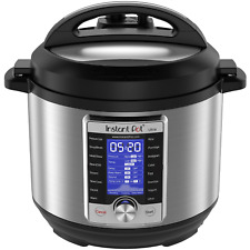Instant Pot Ultra 8 Qt 10-in-1 Multi- Use Programmable Pressure Cooker, Slow