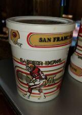 1983 NFL Gold & Soft Margarine Tub Jack Reynolds San Francisco 49ers Superbowl