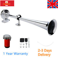 150DB 12V Single Trumpet Air Horn Compressor Set Car Truck Lorry Boat Train