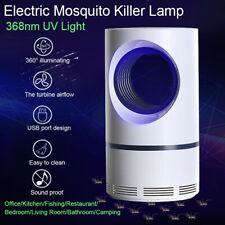 LED Mosquito Killer Lamp Night Light USB Insect Killer Bug Zapper Repellent Lamp
