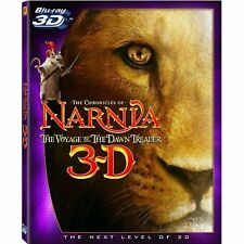 The Chronicles Of Narnia: The Voyage Of The Dawn Treader 3D On Blu-Ray Brand New