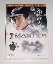 """Jet Li Lian-Jie """"The Master"""" Yuen Wah HK 1992 Martial Arts Region All DVD"""